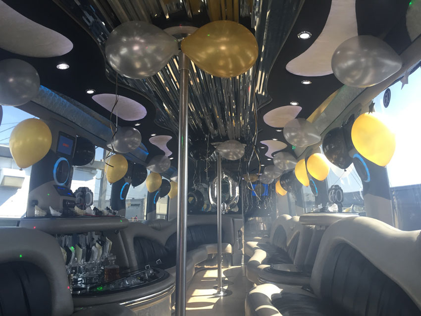 Party Bus Decorations