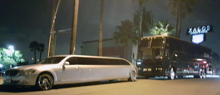 party bus in Huntington Beach
