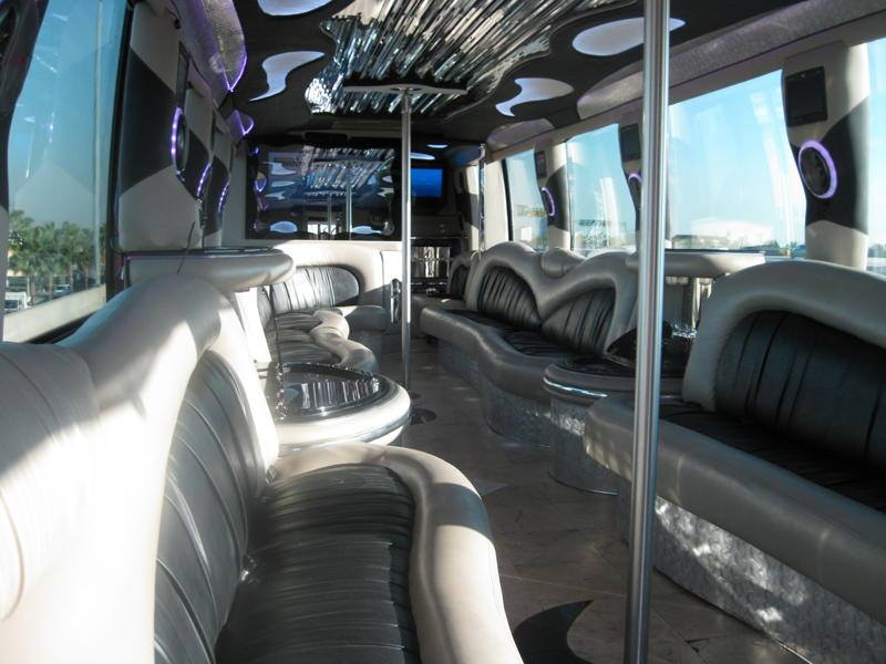 party bus rental to universal city walk