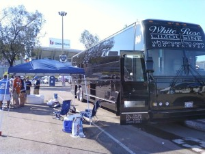 Sporting Event Party Bus