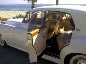 Summer Wedding Bentley Limo