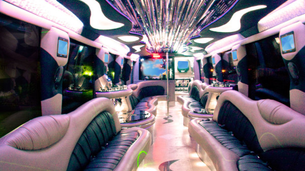 Luxury School Bus Transportation Orange County