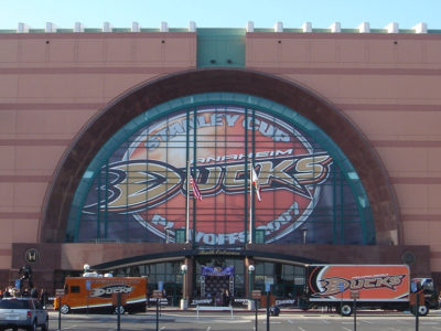 Rent a Party Bus Anaheim Ducks Honda Center