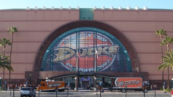 Rent a Party Bus Anaheim Ducks Honda Center