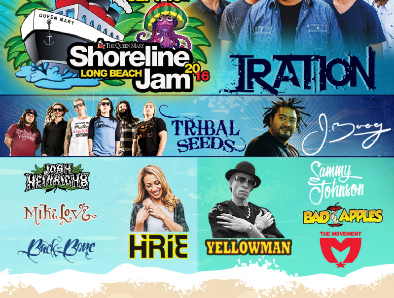 Shoreline Jam Reggae Concert at Queen Mary