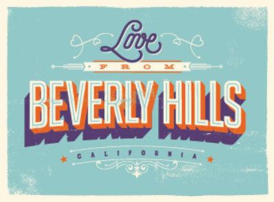 Beverly Hills Luxury Tour Bus