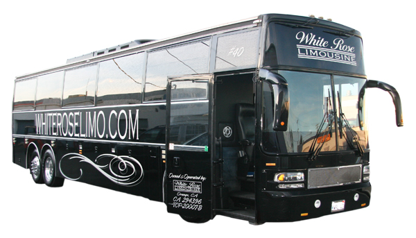 Large party bus rental Redondo Beach
