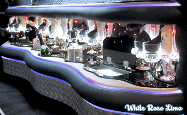 Mercedes Benz Limousine Interior