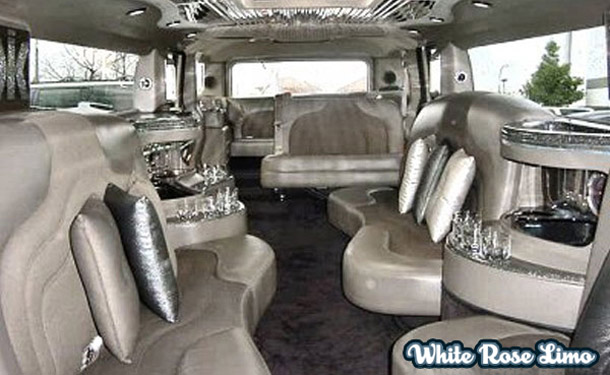 Limo Service Huntington Beach - Hummer Interior