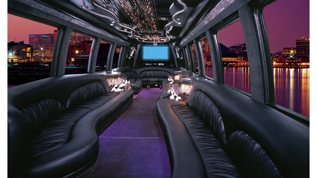 Mini Party Bus Interior