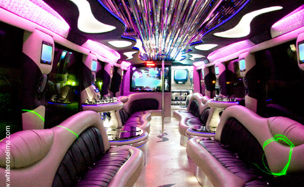 44 Passenger Prom Party Bus