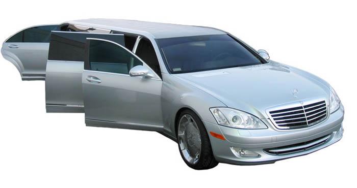 Mercedes Benz Limousine
