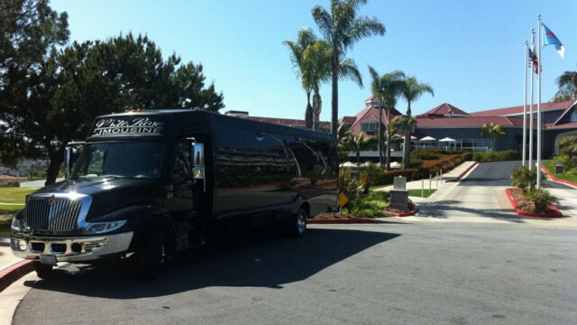 Small Corporate Charter Bus Orange County
