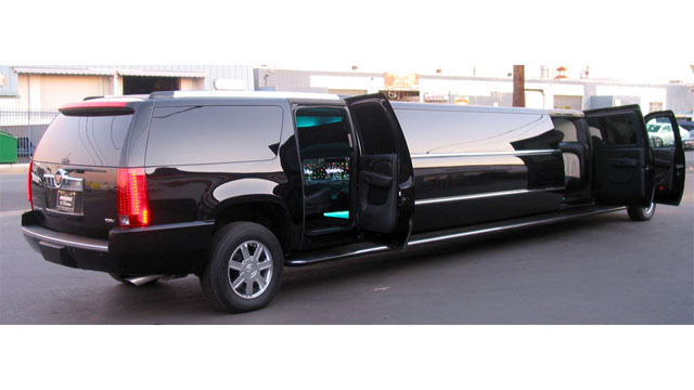 Orange County Cadillac Escalade Limousine