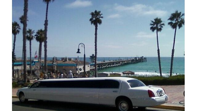 Limo Santa Monica Pier