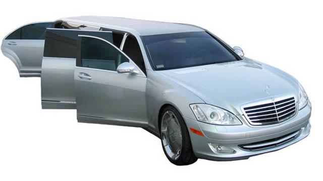 Mercedes Benz Limousine Newport Beach