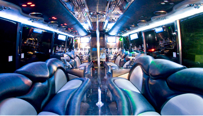 Medium Shuttle Bus Interior