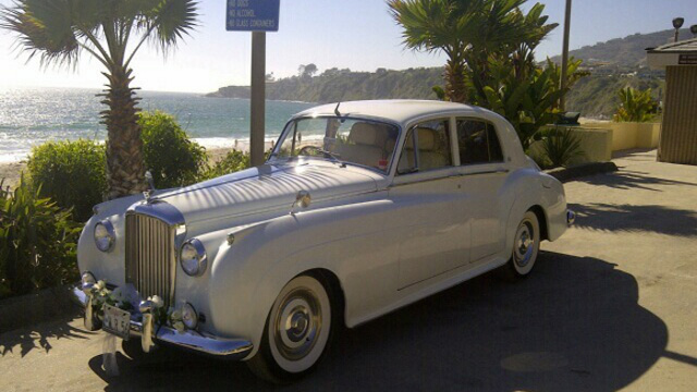 Bentley Vintage Limo Newport Beach