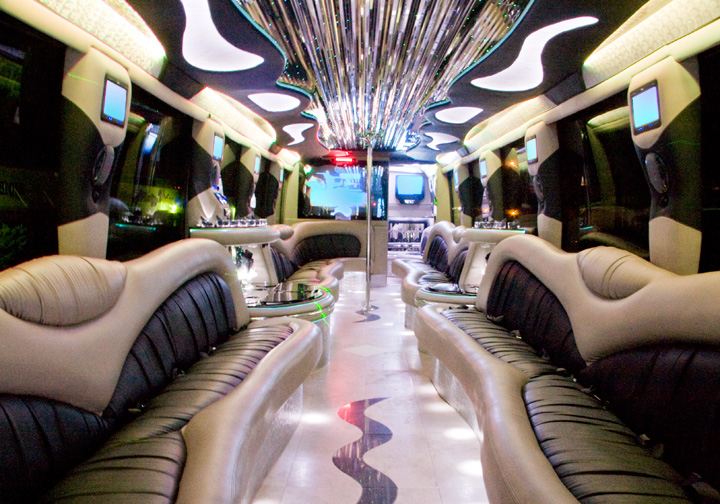 Party bus rental los angeles Tour bus interior design