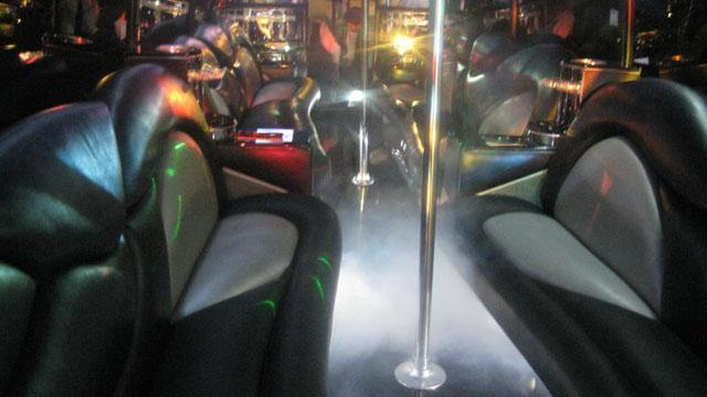 Medium Party Bus Interior