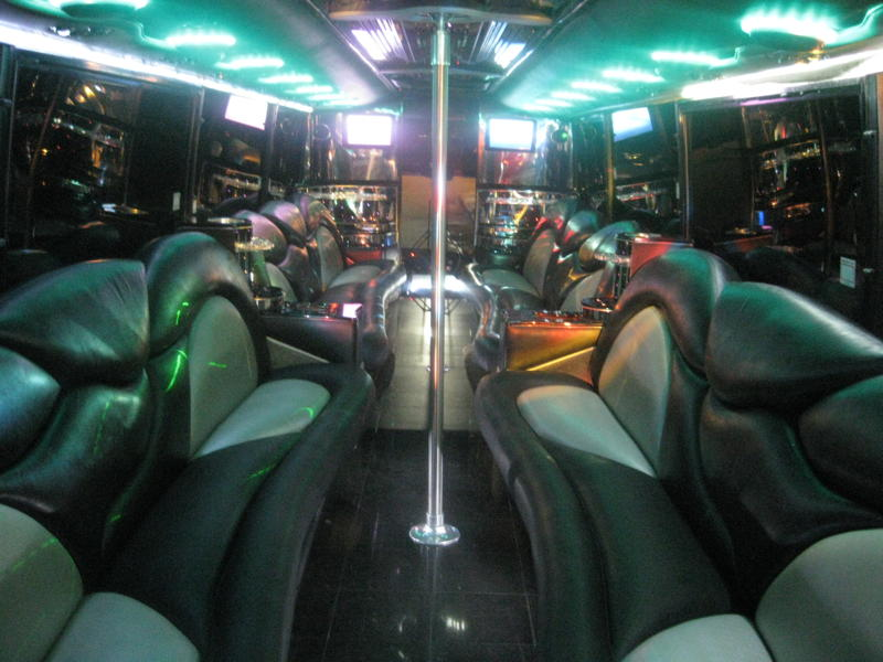 44 Passenger Limo Bus in OC
