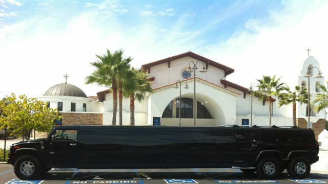 Black H2 Hummer Limo Rental Newport Beach