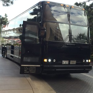 large holiday party bus rental