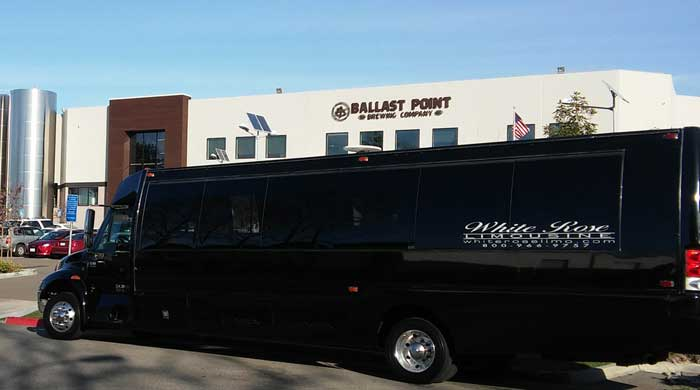 30 Passenger Party Bus in Newport Beach