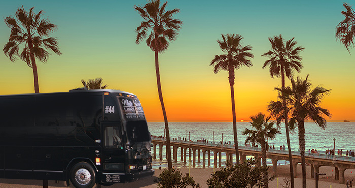 Luxury Party Bus Rental Manhattan Beach