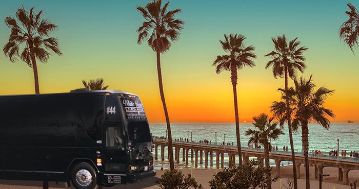 Luxury Party Bus Rental Manhattan Beach