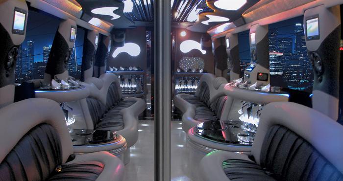 #40 Party Bus Interior