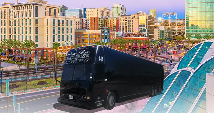 Rent a Party Bus San Pedro