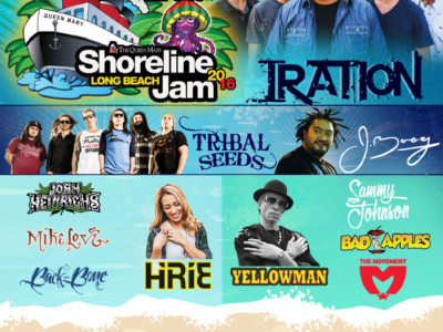Shoreline Jam Reggae Concert at Queen Mary