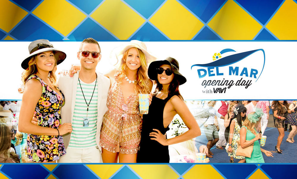 Limo or Bus Rental to Del Mar Opening Day