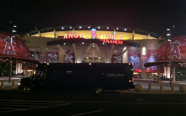 #30 Party Bus at Angel Stadium