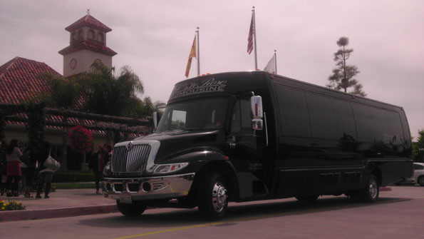 Party Bus at Temecula Winery