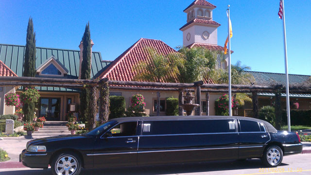 Funeral Limousine Black Lincoln