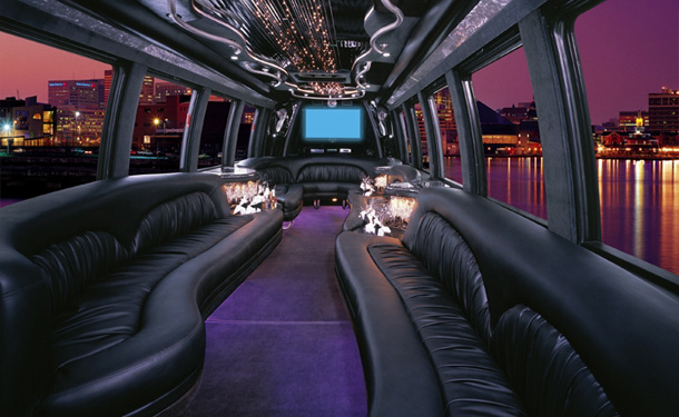 Funeral Limo Bus Orange County