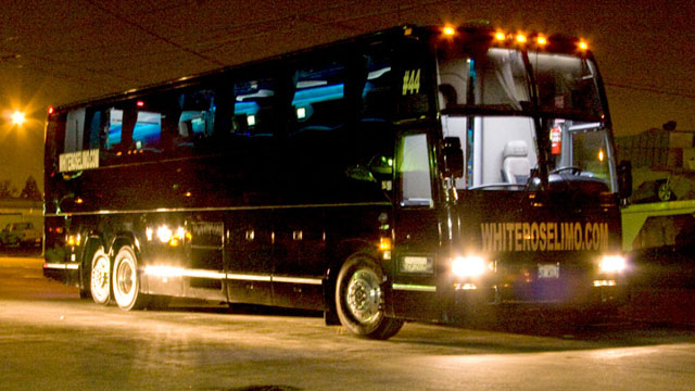 44 Passenger Luxury Party Bus