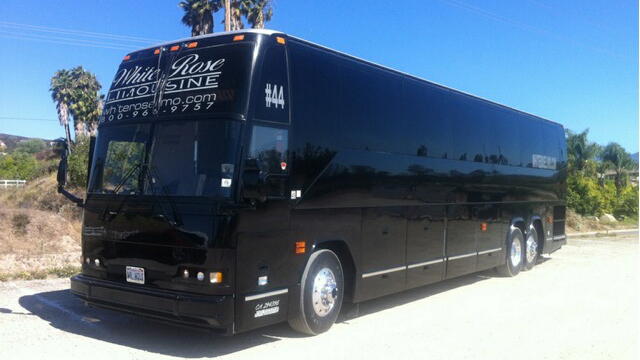 Charter Bus Rental in Costa Mesa