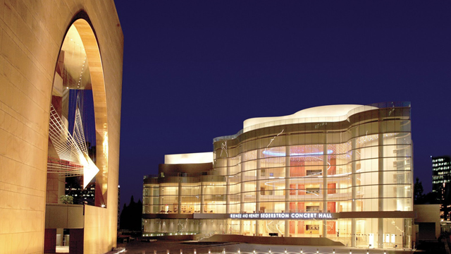 Limo service to the Segerstrom Center for the Arts