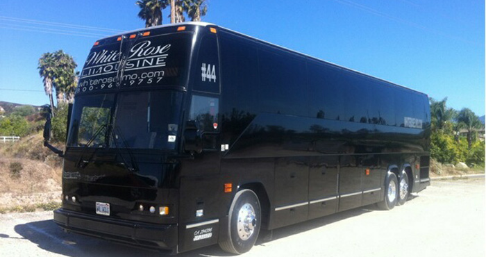 Carlsbad Corporate Bus Rental