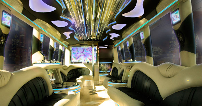 Cheap Party Bus Rental in Huntington Beach