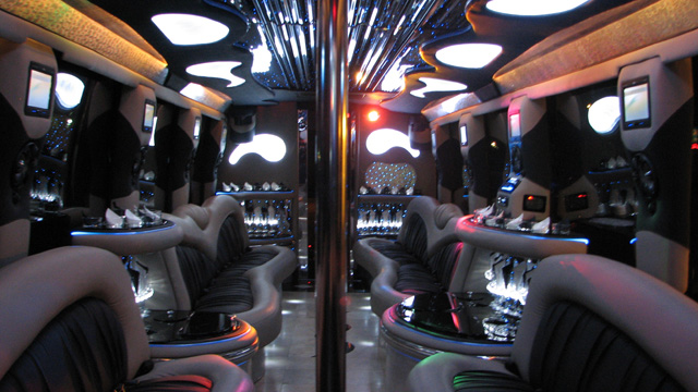 Luxury Party Bus Rental Huntington Beach