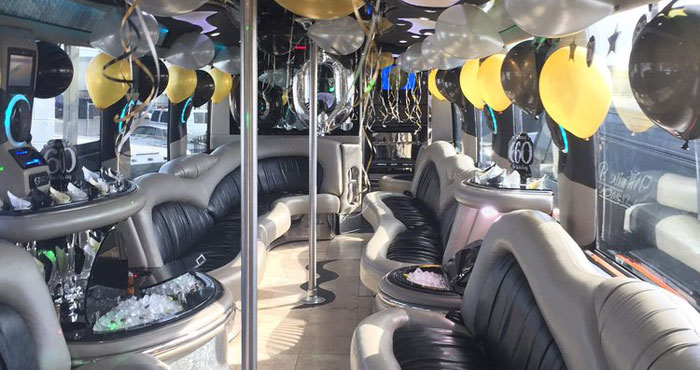 Cheap Luxury Party Bus Rental