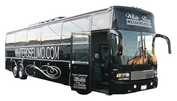 Rancho Santa Margarita party bus