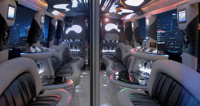 #40 Party Bus Interior