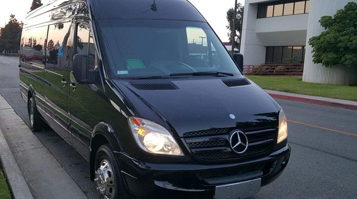 Mercedes Sprinter Bus Anaheim